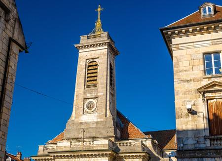 pierre: Sain Pierre church in Besancon - France Stock Photo