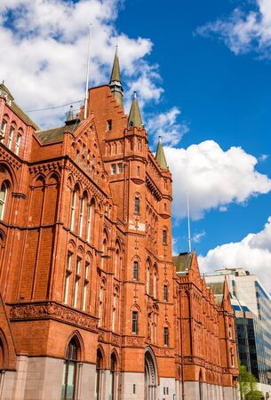 prudential: Holborn Bars, also known as the Prudential Assurance Building - London