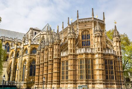 henry: Henry VII Chapel of Westminster Abbey in London Stock Photo