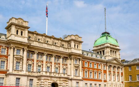 Old Admiralty Building in the city centre of London - England Editorial