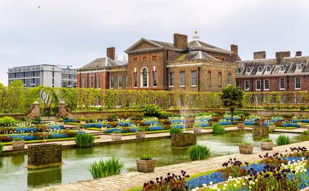 kensington: View of Kensington Palace in London - England Editorial