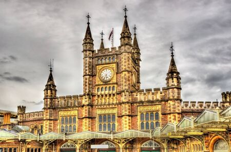 temple tower: Bristol Temple Meads railway station - England