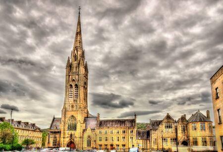 evangelist: St John the Evangelist Church in Bath, England