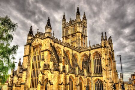 bath: The Abbey Church of Saint Peter and Saint Paul in Bath - England