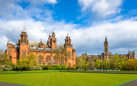 Kelvingrove Museum and Glasgow University - Scotland Editorial