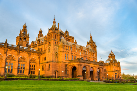 art of building: Kelvingrove Museum and Art Gallery in Glasgow - Scotland