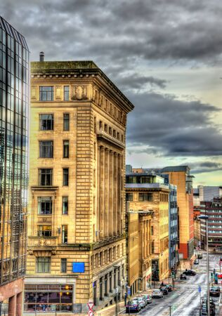 historic buildings: Historic buildings in the centre of Glasgow - Scotland