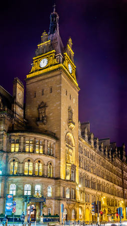 hotel building: The Grand Central Hotel, a historic building in Glasgow, Scotland
