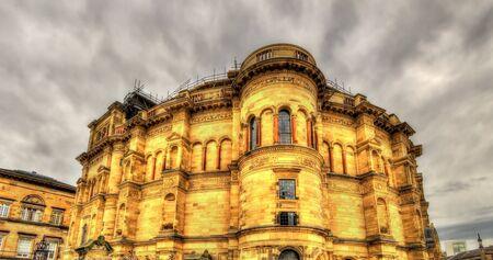 acomodador: El Usher Hall, una sala de conciertos en Edimburgo - Gran Breta�a