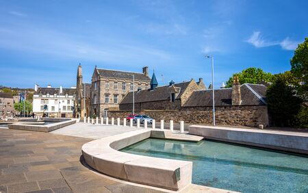 scottish parliament: The Queens Gallery at the Holyrood Palace in Edinburgh