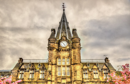 infirmary: Quartermile, the former Royal Infirmary of Edinburgh