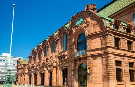 rosengarten: Mannheim Rosengarten, a Concert Hall and Congress Centre in Baden-Wurttemberg, Germany
