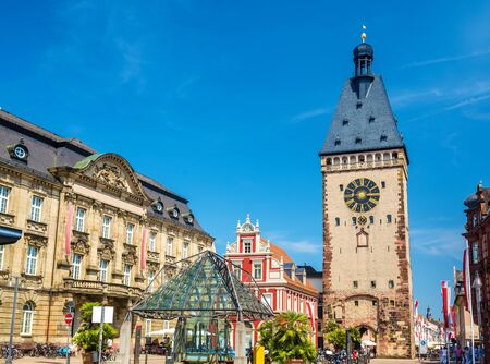 and germany: The Old Gate of Speyer - Germany, Rhineland-Palatinate