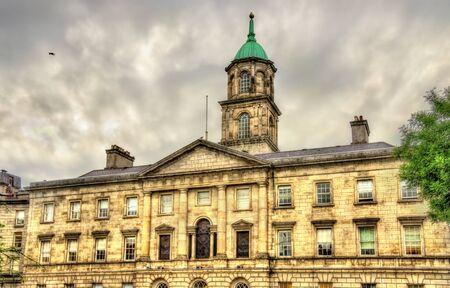 irish history: Rotunda Maternity Hospital in Dublin - Ireland Editorial