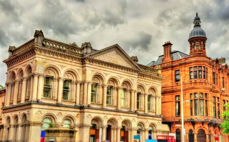 northern ireland: Buildings in the city centre of Belfast - Northern Ireland