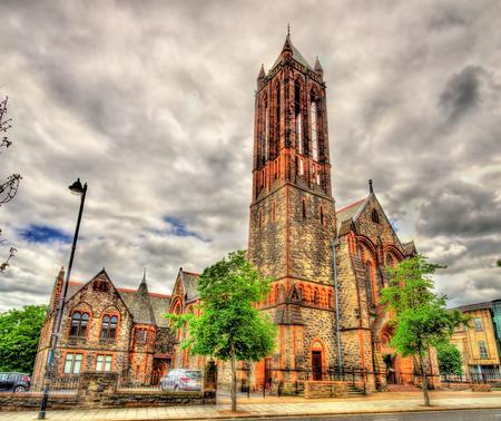 crescent: The Crescent Church in Belfast, Northern Ireland Stock Photo