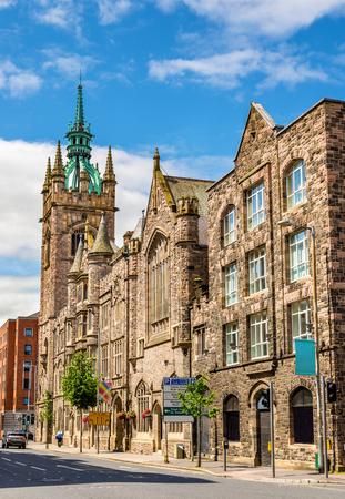 the church: Church House (Iglesia Presbiteriana de Irlanda) - Belfast