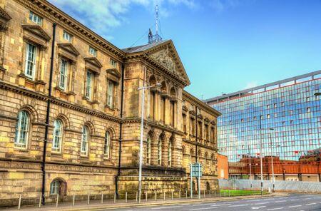 customs: The Customs House in Belfast - Northern Ireland Stock Photo