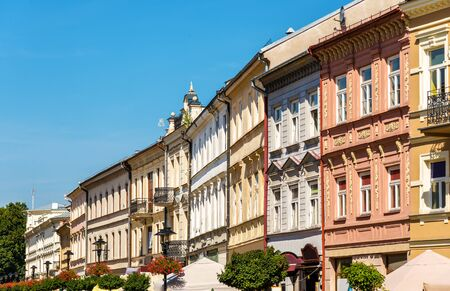 lublin: Buildings in the historic centre of Lublin, Poland