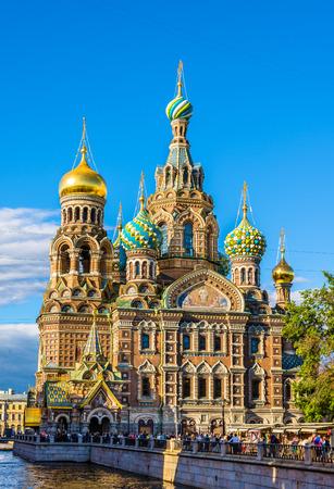 IGLESIA: Iglesia del Salvador sobre la Sangre - San Petersburgo, Rusia Editorial