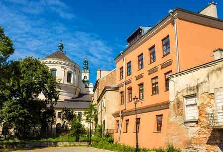 evangelist: Cathedral of Johns the Baptist and the Evangelist in Lublin - Poland