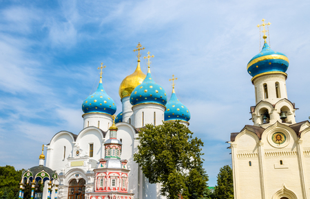assumption: Church of the Holy Spirit and Assumption Cathedral at Troitse-Sergiyeva Lavra
