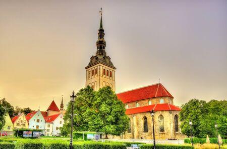 tallinn: St. Nicholas Church in Tallinn - Estonia