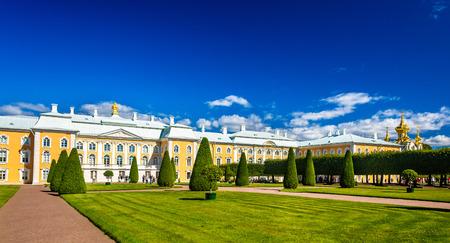 peterhof: The Grand Palace of Peterhof - Russia Editorial