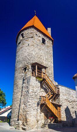 The Tower of Plate in Tallinn - Estonia