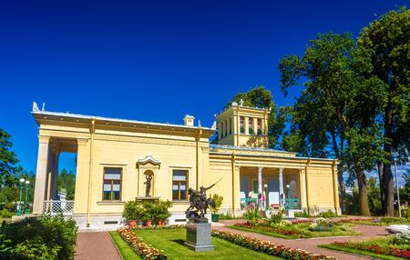 peterhof: View of Tsaritsyn Pavilion in Peterhof - Russia