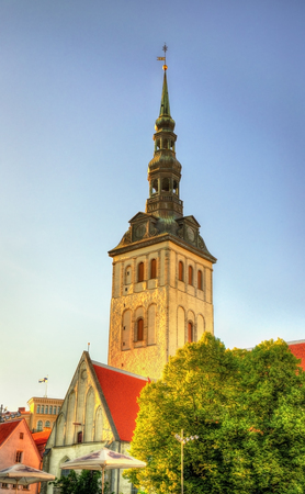 nicholas: St. Nicholas Church in Tallinn - Estonia