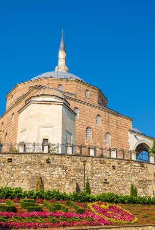 mustafa: Mustafa Pasha Mosque in Skopje - Macedonia Stock Photo