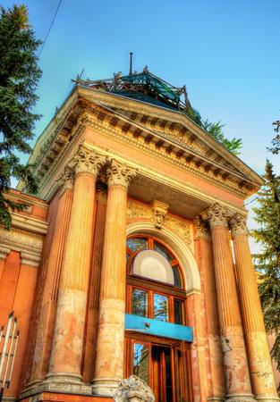 by cu: Sala cu Orga (Organ Hall) in Chisinau - Moldova Stock Photo