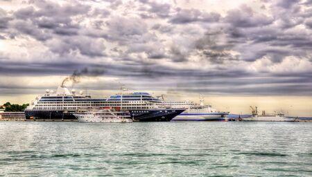 Ships in the Port of Split - Croatia