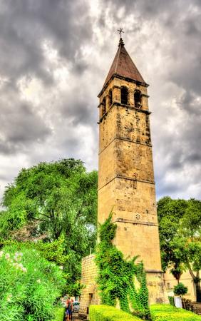 dalmatia: St. aArnira Bell Tower - Split, Dalmatia, Croatia