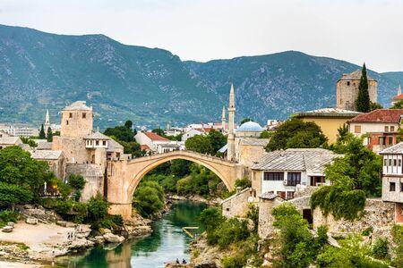 most: Stari Most (Old Bridge) of Mostar