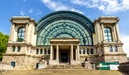 history building: Royal Museum of the Army and Military History in Brussels