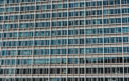 glazing: Glazing of the Berlaymont building, the seat of the European Commission