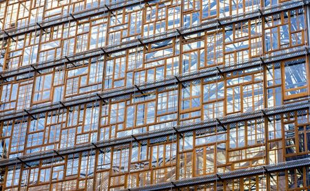 glazing: Glazing of the Europa building, the future seat of the European Council