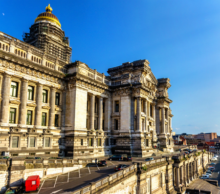 eclecticism: Law Courts (Palace of Justice) in Brussels - Belgium Editorial