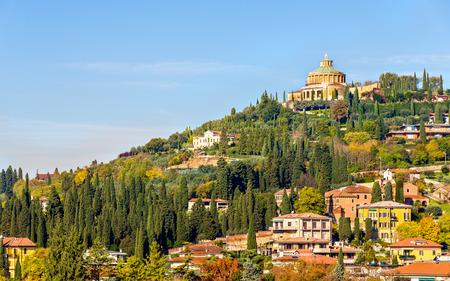 forte: View of Forte San Leonardo in Verona
