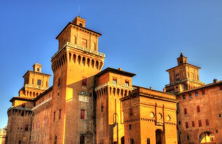 or san michele: Castello Estense or castello di San Michele in Ferrara - Italy Editorial