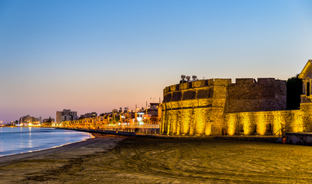 Larnaca Castle, the southern coast of Cyprus Editorial
