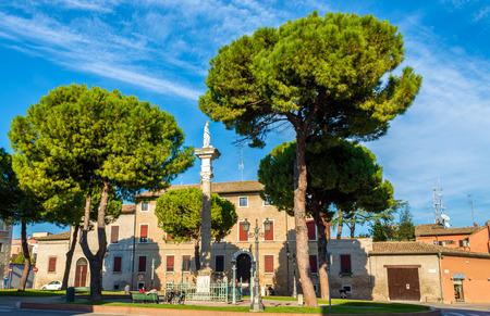 ravenna: Piazza Duomo in Ravenna - Italy, Emilia-Romagna