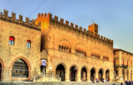 cavour: Palazzo dellArengo on Piazza Cavour in Rimini - Italy