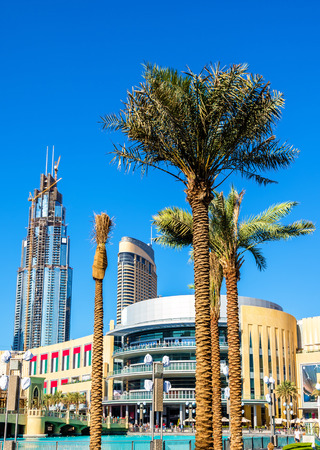 mall of the emirates: View of Dubai Mall - the United Arab Emirates