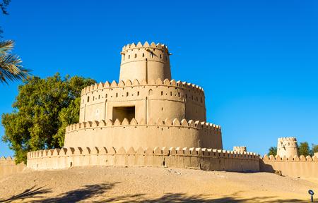 Tower of Al Jahili Fort in Al Ain, UAE Editorial