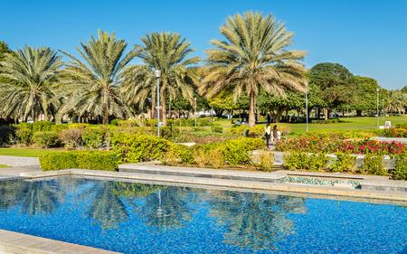 al: Al Jahli Park in Al Ain, United Arab Emirates
