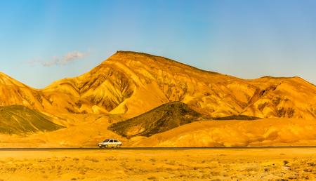 isfahan: Motorway Tehran - Isfahan in Karkas Mountains, Iran
