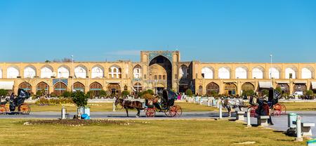 isfahan: View of Naqsh-e Jahan Square in Isfahan, Iran